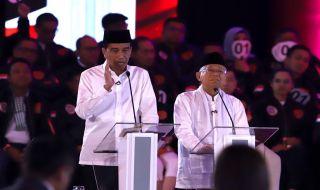 Jokowi dan Maruf Amin
