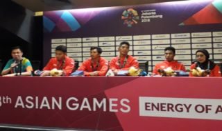 Asian Games 2018, lari estafet,  Fadlin Ahmad, Lalu Muhammad Zohri, Eko Rimbawan, Bayu Kartanegara