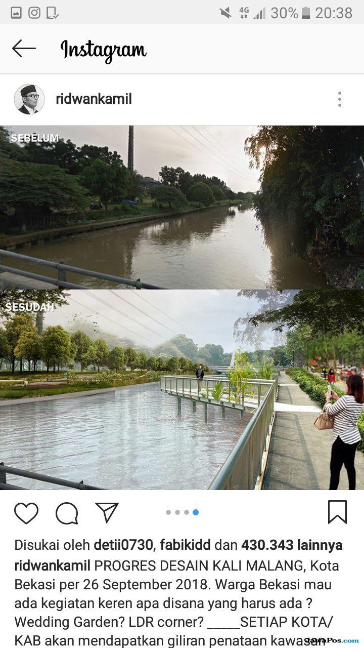 4 Desain Siap Sulap Kalimalang Seperti Sungai di Korsel