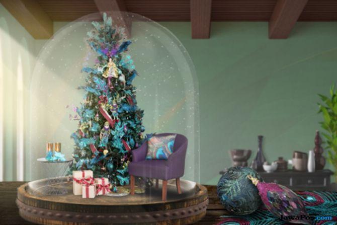 perayaan natal, pohon natal,