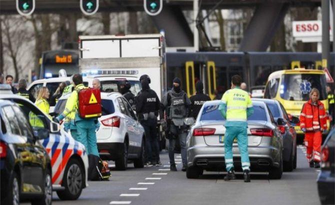 Penembakan Trem di Utrecht Motifnya Belum Jelas