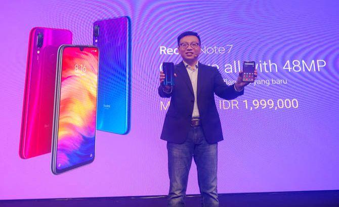 Redmi Note 7 Resmi Meluncur di Indonesia, Harganya Murah Banget!
