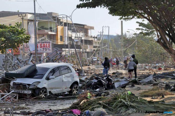 1.650 Orang Meninggal Dunia Akibat Gempa dan Tsunami Sulteng