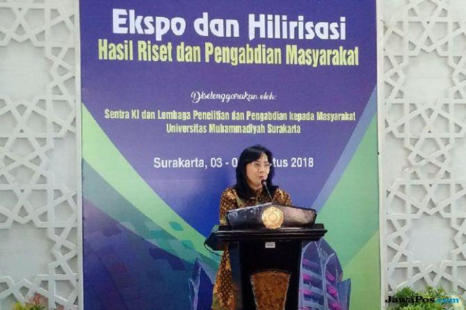 Dirjen Industri Kecil dan Menengah (IKM) Kementerian Perindustrian Gati Wibawaningsih