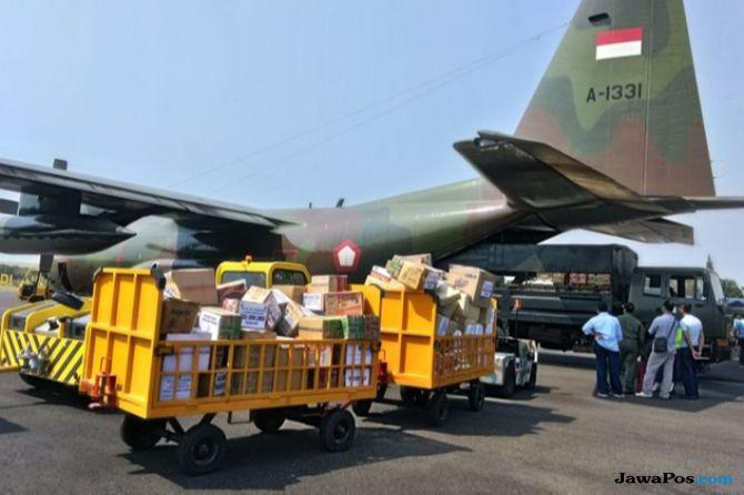 21,4 Ton Bantuan dari Madiun Dikirimkaan ke Lombok