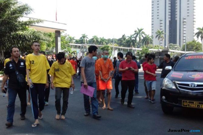3 Hari Ungkap Kasus Street Crime, Polisi Amankan 387 Orang