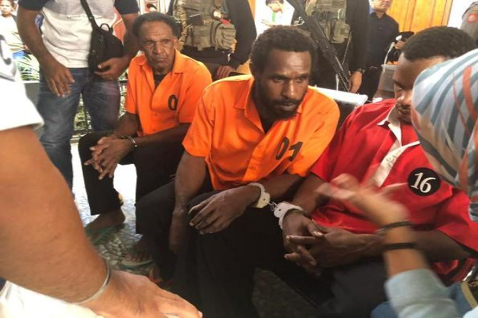Image result for image 3 Pemasok Amunisi ke KKB Papua Divonis 2 Tahun 6 Bulan Penjara
