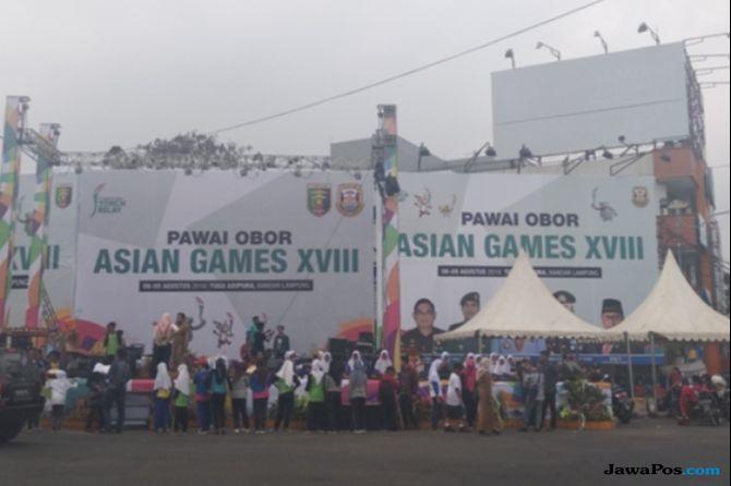 30.000 Siswa Dengan Pakaian Adat Akan Ramaikan Obor Asian Games 2018