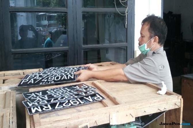 Papua Ubah Kode Plat Kendaraan