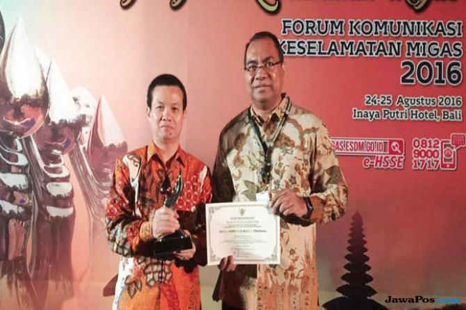 3 Jam Tanpa Kecelakaan Kerja, HCML Terima Penghargaan