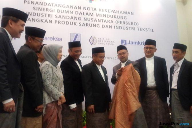 5 BUMN Bersinergi Dukung Industri Sandang Nusantara