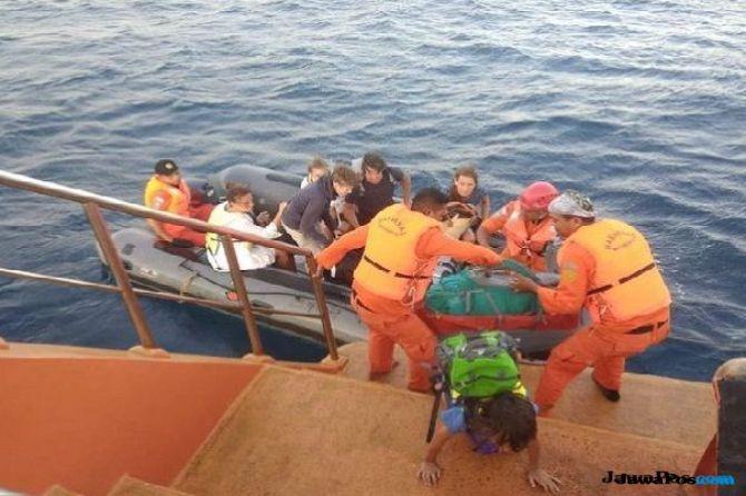 700 Wisatawan yang Terjebak di 3 Gili Mulai Dievakuasi