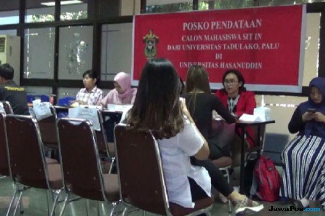 800 Mahasiswa Korban Gempa Sulteng Mendaftar ke Unhas