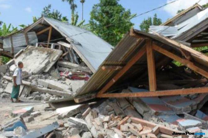83.392 Rumah Rusak di Lombok, BNPB Kucurkan Rp 250 Miliar