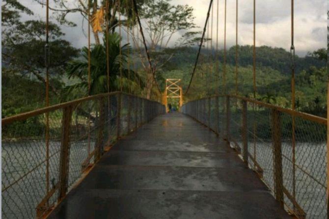 9 Unit Jembatan Gantung Bakan Sambung Desa-desa di Aceh Tahun Ini