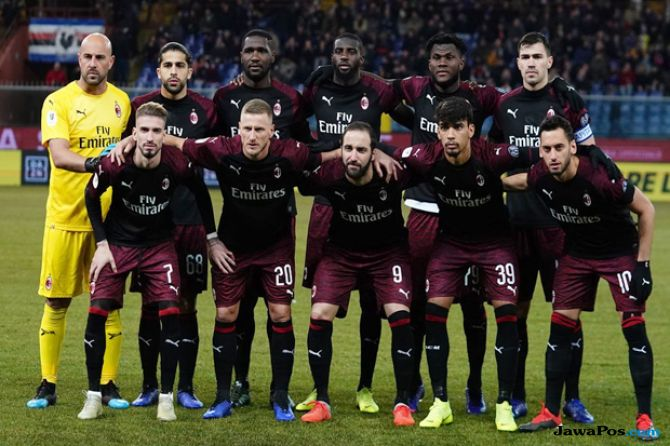 Coppa Italia 2018-2019, Sampdoria, AC Milan, Sampdoria 0-2 AC Milan