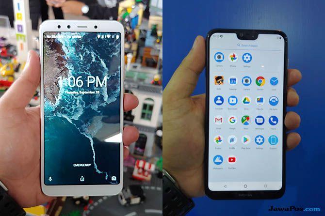 Xiaomi Mi A2, Nokia 6.1 Plus, Android One Xiaomi dan Nokia