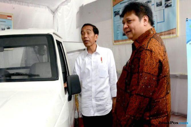 Jokowi dan Airlangga