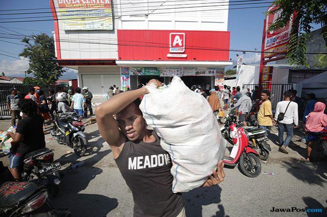 Alasan Korban Gempa Sulteng Menjarah Minimarket