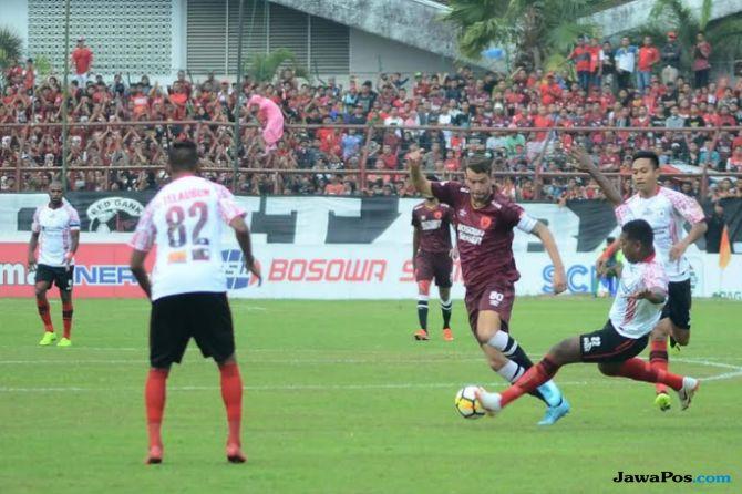 Persipura Jayapura, PSM Makassar, Liga 1 2018, Osvaldo Lessa