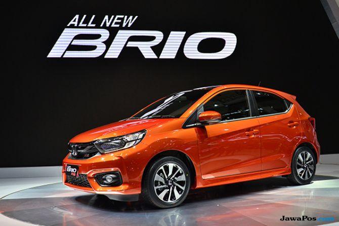 All New Honda Brio Lahir Di Ajang GIIAS 2018