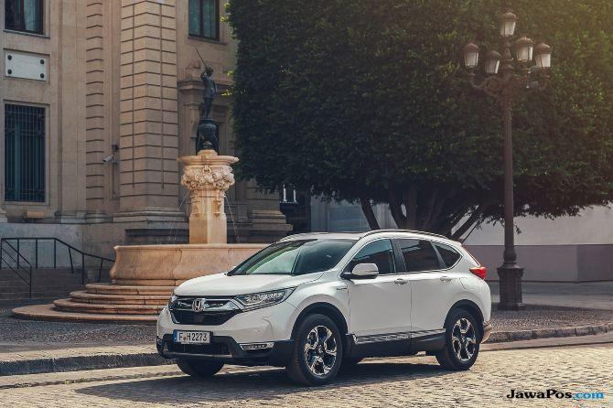 All New Honda CR-V Hybrid Tampil di Paris Motor Show 2018