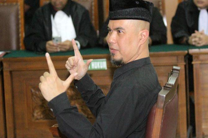 Anggap Putusan PT DKI tak Lazim, Ahmad Dhani Tulis Surat Keberatan dari dalam Penjara
