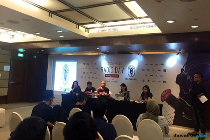 Konferensi Pers Radio Day