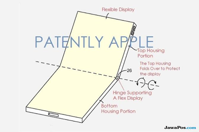 Apple smartphone lipat, smartphone lipat apple, apple paten terbaru
