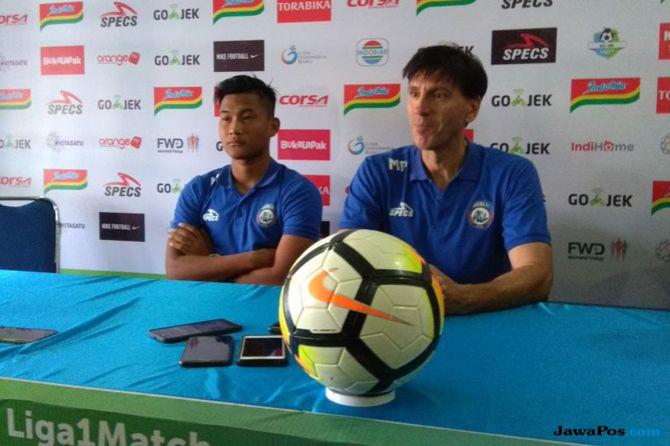 Arema FC, Liga 1 2018, Borneo FC, Milan Petrovic