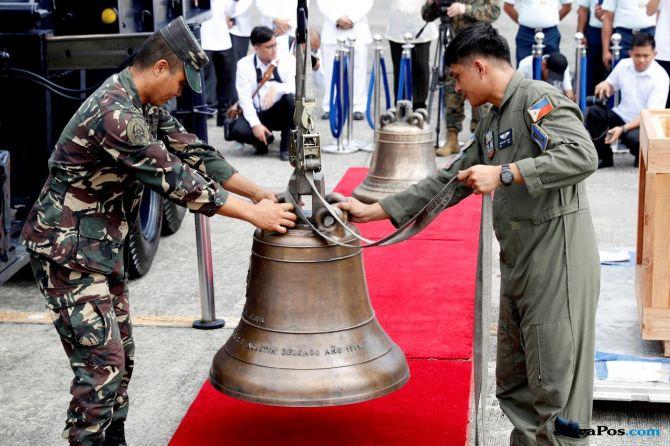 lonceng gereja, filipina, as, Balangiga,