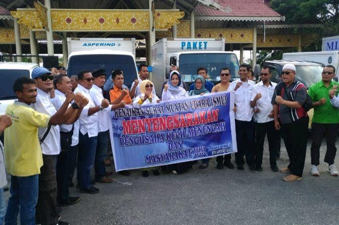 Asperindo Riau Sebut Kenaikan SMU Capai 330 Persen