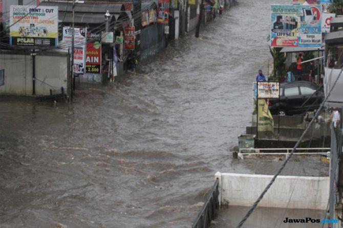 Atasi Masalah Banjir, Kolam Retensi Akan Dibangun Di Tujuh Titik