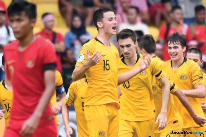 Piala Asia U-16, Timnas U-16 Indonesia, Timnas U-16 Australia