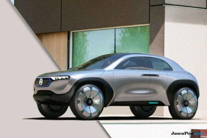 Baby Car Mercedes, Desain Unik, Bulat Tapi Ramping