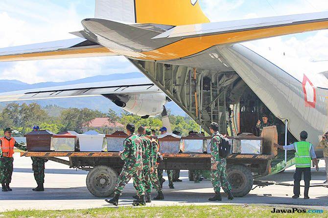 Baku Tembak dengan Separatis Papua, TNI-Polri Temukan Jenazah Korban