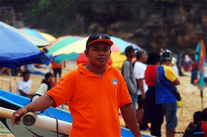 Koordinator SAR Satlinmas Wilayah II Gunungkidul, Marjono