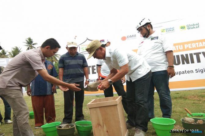 Bangkit dari Duka, 140 Unit Hunian Nyaman Terpadu Dibangun di Sigi