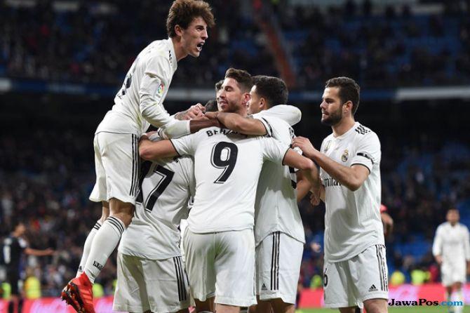 Copa del Rey 2018-2019, Real Madrid, Leganes, Real Madrid 3-0 Leganes