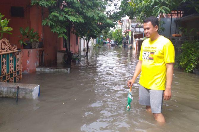 JSMR Banjir Selama Sepekan, Camat Taman akan Bernegosiasi dengan Jasa Marga