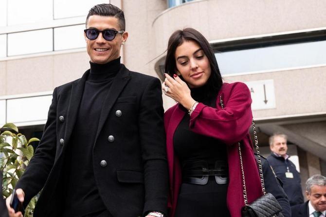 Cristiano Ronaldo, Juventus, Georgina Rodriguez