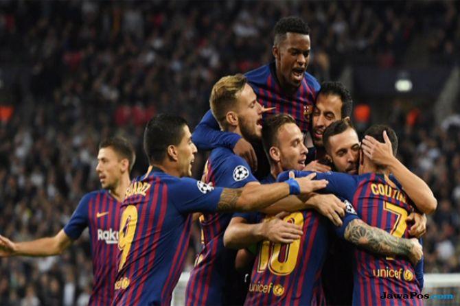 Liga Champions, Barcelona, Tottenham Hotspur