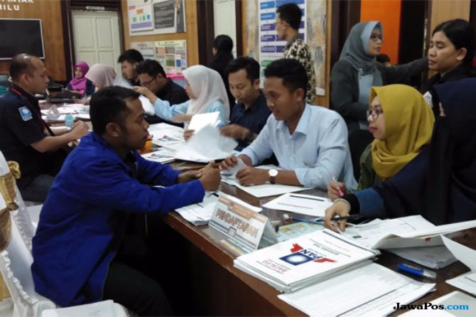 Pendaftaran Bacaleg Kota Malang