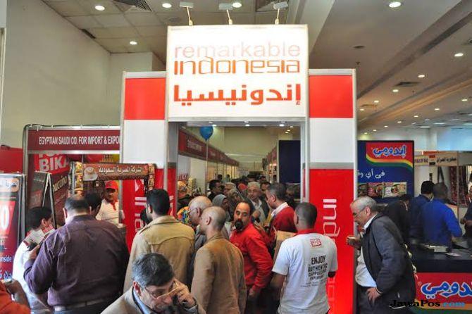Baru 2 Hari, RI Capai Transaksi Rp 1,48 T di Pameran Dagang Mesir