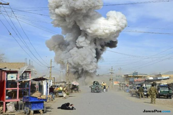 Baru Nikmati Lebaran, Bom Bunuh Diri Tewaskan 25 Orang di Afghanistan