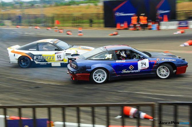 Battle Drift Intersport Subang, Bakar Dunia Balap Indonesia