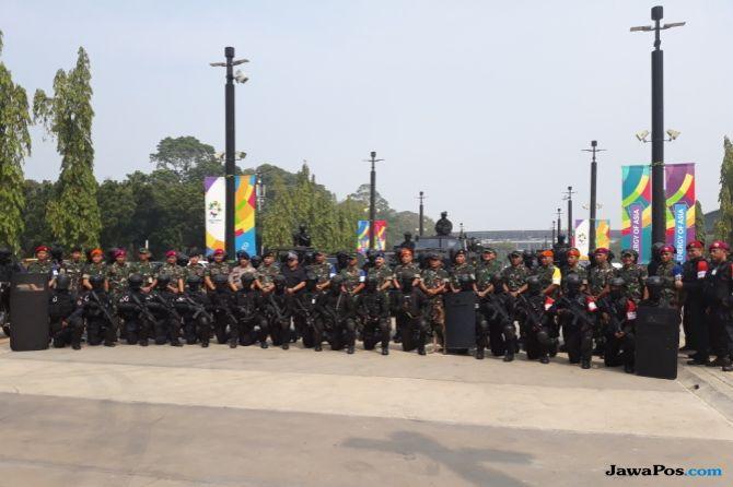 Begini Ketegangan Simulasi Penanggulangan Teroris Asian Games