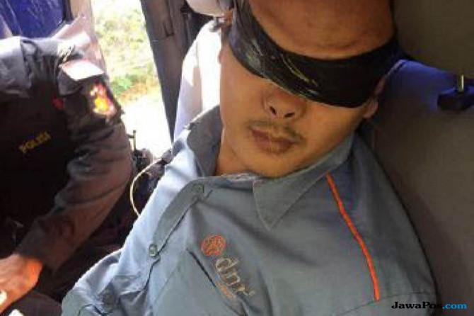 Begini Latihan Terduga Teroris yang Ditangkap Saat Kunjungan Jokowi