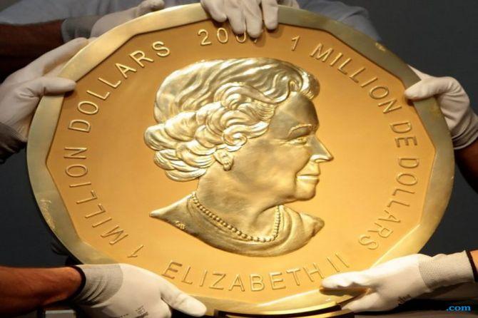 koin emas, emas, pencuri,