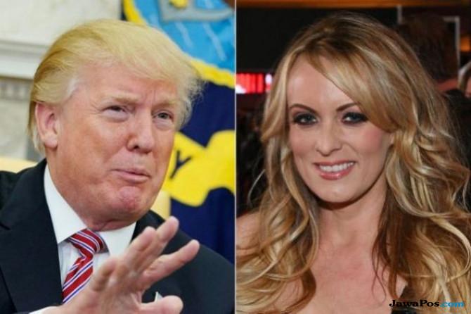 Begini Transaksi Trump Bayar Bintang Porno Stormy Daniels